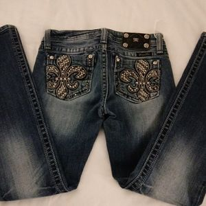 NWOT MISS ME girls bootcut jeans